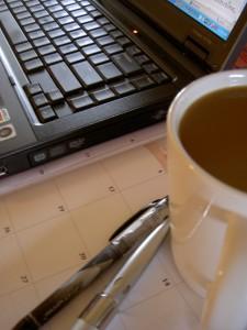 coffeecomputerpens