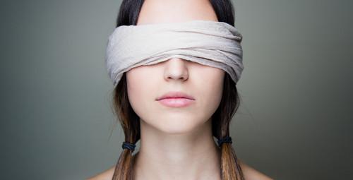 blindfoldedwoman